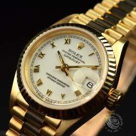 RO21030S Rolex Ladies Datejust 18ct Wrist 1