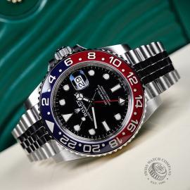RO21767S Rolex GMT-Master II BLRO Close10