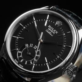 RO22753S Rolex Cellini Dual Time Close2
