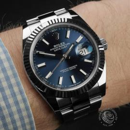 RO22310S Rolex Datejust 41 Wrist