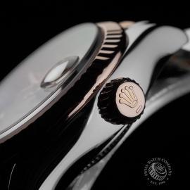 RO22737S Rolex Ladies Datejust Close9