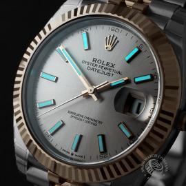 RO22620S Rolex Datejust 41 Unworn Close1