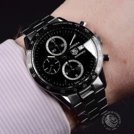 21481S Tag Heuer Carrera Chronograph Tachymetre Wrist