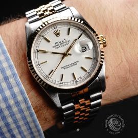 RO22250S Rolex Datejust 36 Wrist