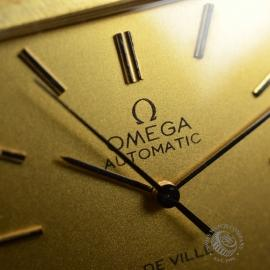 OM18522S Omega Vintage De Ville Automatic 18ct Close8