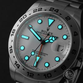 RO22284S Rolex Explorer II Orange Hand Close1