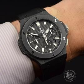 HU1844P Hublot Big Bang Black Magic Chronograph Wrist 1