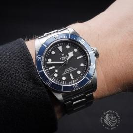TU21617S Tudor Heritage Black Bay 79230B Wrist 1