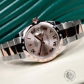 RO21702S Rolex Ladies Datejust Midsize Close11