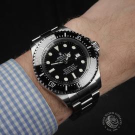 RO22370S Rolex Sea Dweller DEEPSEA MK1 Wrist