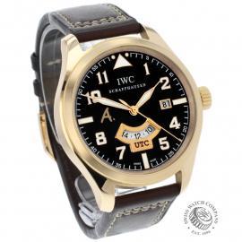 IW22448S IWC Pilot's Watch UTC Rose Gold Dial