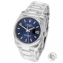 RO21737S Rolex Oyster Perpetual Date Back