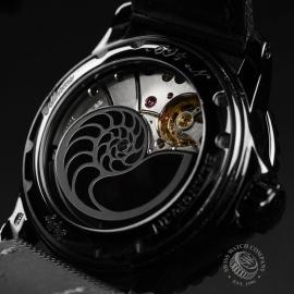 BL19823S Blancpain Black Knight Fifty Fathoms Automatic Close8