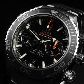 OM20307S Omega Seamaster Planet Ocean 600m Co Axial Chrono Close5