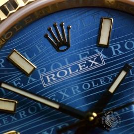 RO1816P Rolex Datejust 18ct Close11 1