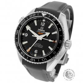 OM21785S Omega Seamaster Planet Ocean Co-Axial GMT Back