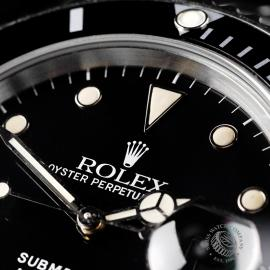 RO21827S Rolex Submariner Date Transitional Close 3