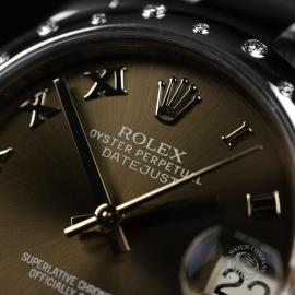 RO20780S Rolex Ladies Datejust Midsize Close4