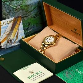 RO21031S Rolex Yachtmaster Mid Size 18ct Box