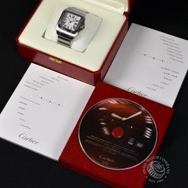 20956S Cartier Santos 100 Box 1