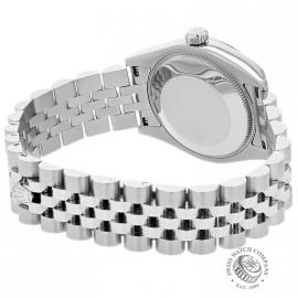 RO21505S Rolex Ladies Datejust Midsize Back