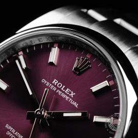 RO22071S Rolex Oyster Perpetual 34 Close3
