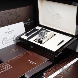 PK21759S Patek Philippe Nautilus Annual Calendar Moonphase Box
