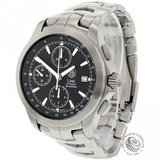 e9c80dee80fa Tag Heuer Link Chronograph Automatic Watch - CJF2110 - Ref  TA ...