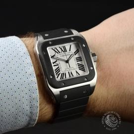 CA21601S Cartier Santos 100 Wrist