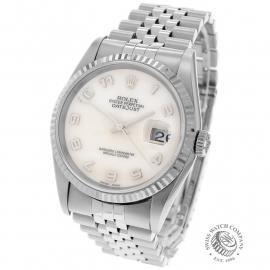 RO22548S Rolex Datejust 36 Back