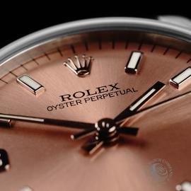 RO21830S Rolex Mid Size Oyster Perpetual Close6