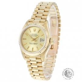 Rolex Ladies Datejust 18ct