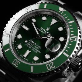 RO22274S Rolex Submariner Date Ceramic 'Hulk' Unworn Close2