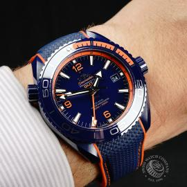 OM21772S Omega Seamaster Planet Ocean GMT 'Big Blue' Wrist