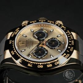 RO22580S Rolex Cosmograph Daytona 18ct Gold Cerachrom Unworn Close6