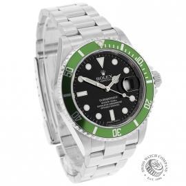 RO21193S Rolex Submariner Date Green Bezel Anniversary Dial