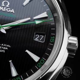 OM21643S Omega Seamaster Aqua Terra Close6