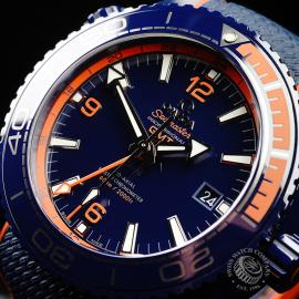 OM21772S Omega Seamaster Planet Ocean GMT 'Big Blue' Close2
