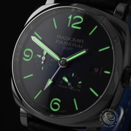 PA1930P Panerai Radiomir 1940 GMT Power Reserve Close1