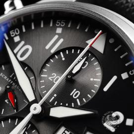 IW21828S IWC Pilots Double Chronograph 'Partouille Suisee'  Close3
