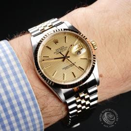 RO22102S Rolex Datejust 36 Wrist 1