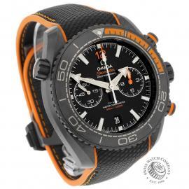 OM22262S Omega Seamaster Planet Ocean Chronograph 'Deep Black' Dial