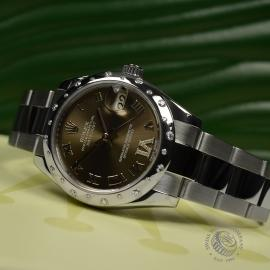 RO20780S Rolex Ladies Datejust Midsize Close11