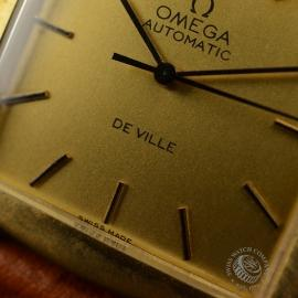 OM18522S Omega Vintage De Ville Automatic 18ct Close5