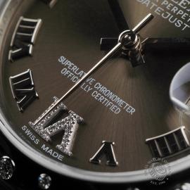 RO22610S Rolex Ladies Datejust Midsize Close5