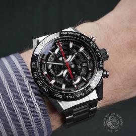 TA22421S Tag Heuer Carrera Calibre HEUER 01 Chronograph Wrist