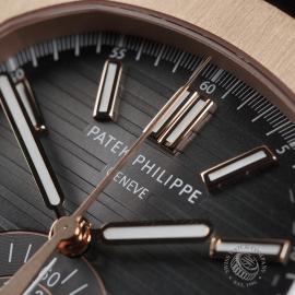 PK22578S Patek Philippe Nautilus Chronograph Rose Gold Close3