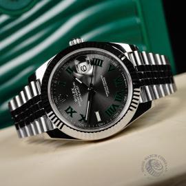 RO22713S Rolex Datejust 41 Close10 1