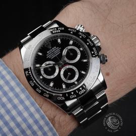 RO22397S Rolex Cosmograph Daytona Cerachrom Bezel Wrist