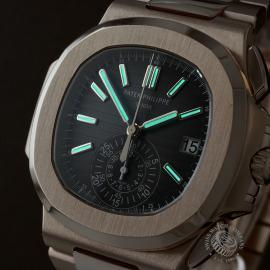 PK22578S Patek Philippe Nautilus Chronograph Rose Gold Close1